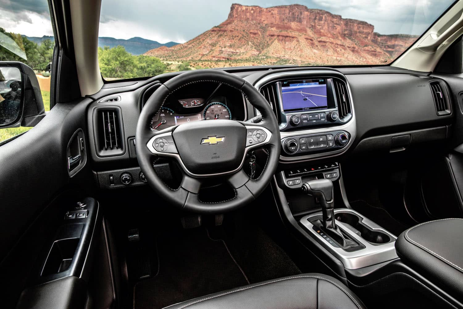 2017 Chevrolet Colorado ZR2 Review interior