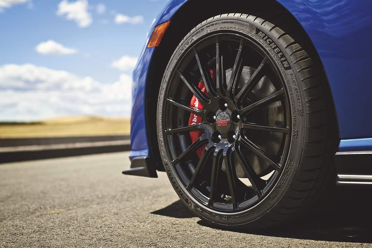 2018 Subaru BRZ tS wheel
