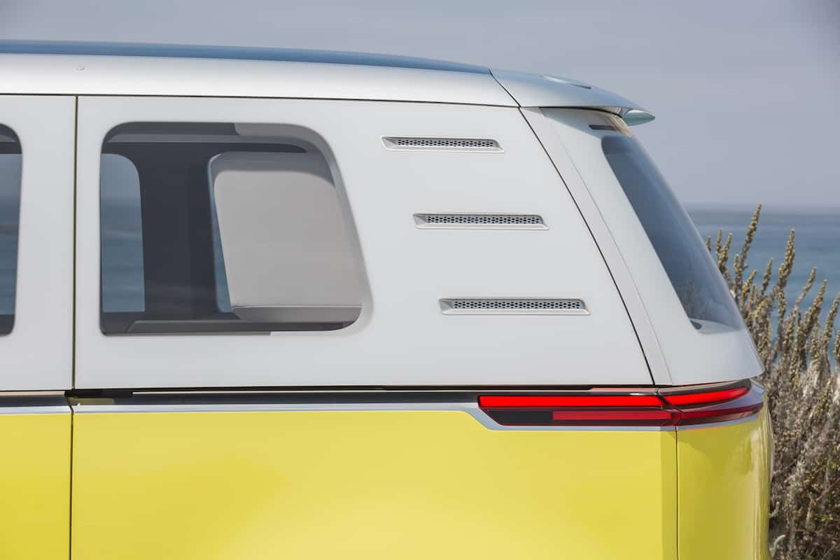 volkswagen I.D. BUZZ electric concept rear detail