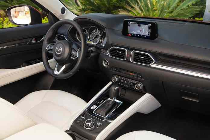 2017 mazda cx-5 review interior grand touring