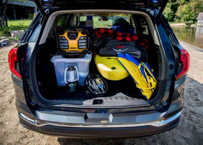 2018 GMC Terrain rear cargo