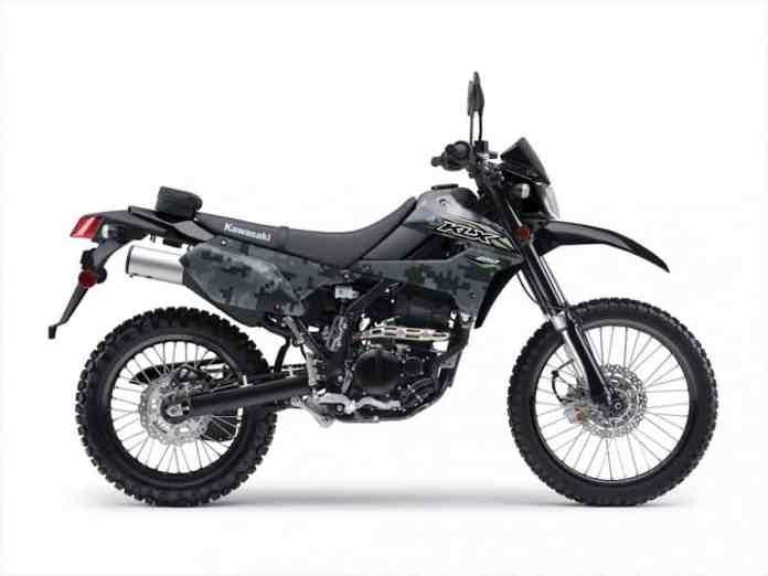 2018 Kawasaki KLX250 camo edition