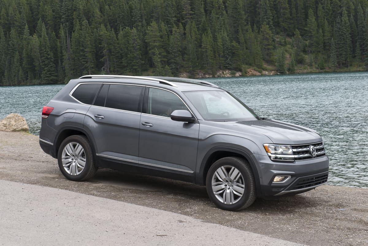 2018 Volkswagen Atlas SUV Review