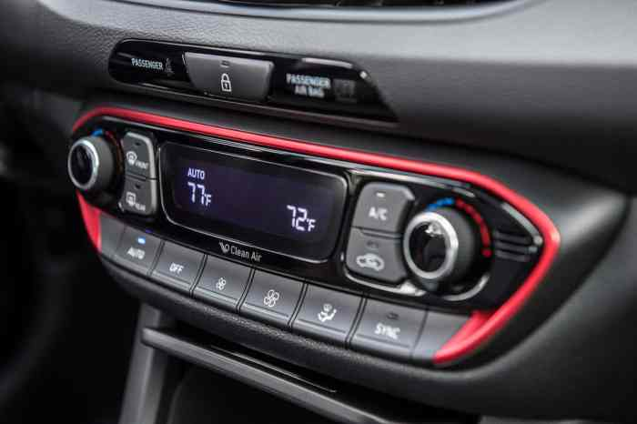 2018 Elantra GT Sport interior