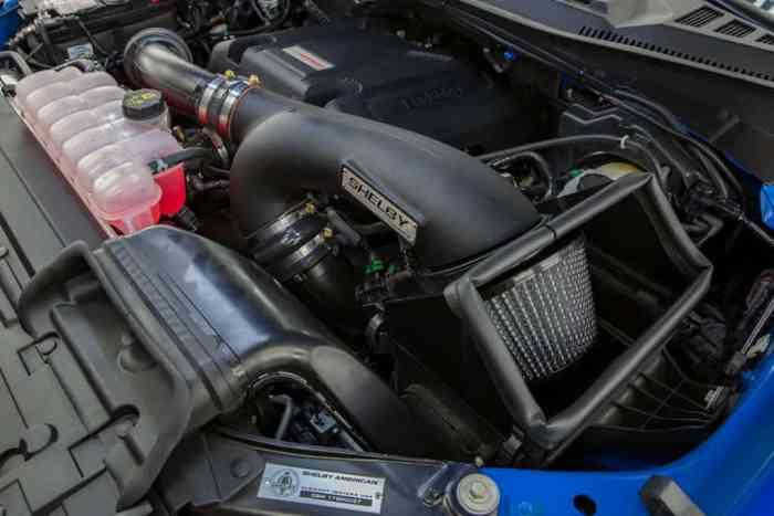 2018 shelby baja raptor engine