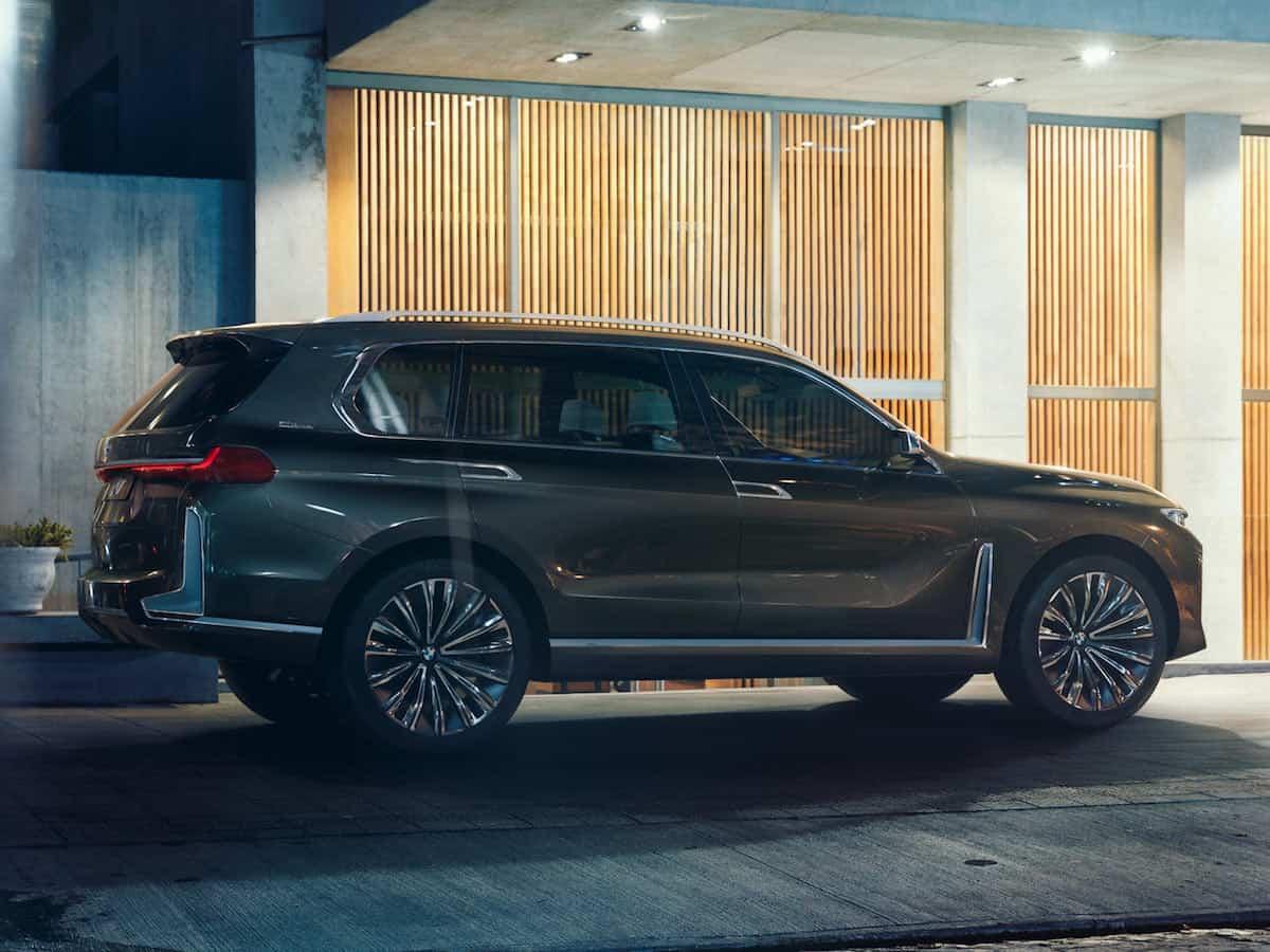 BMW X7 iPerformance concept rear