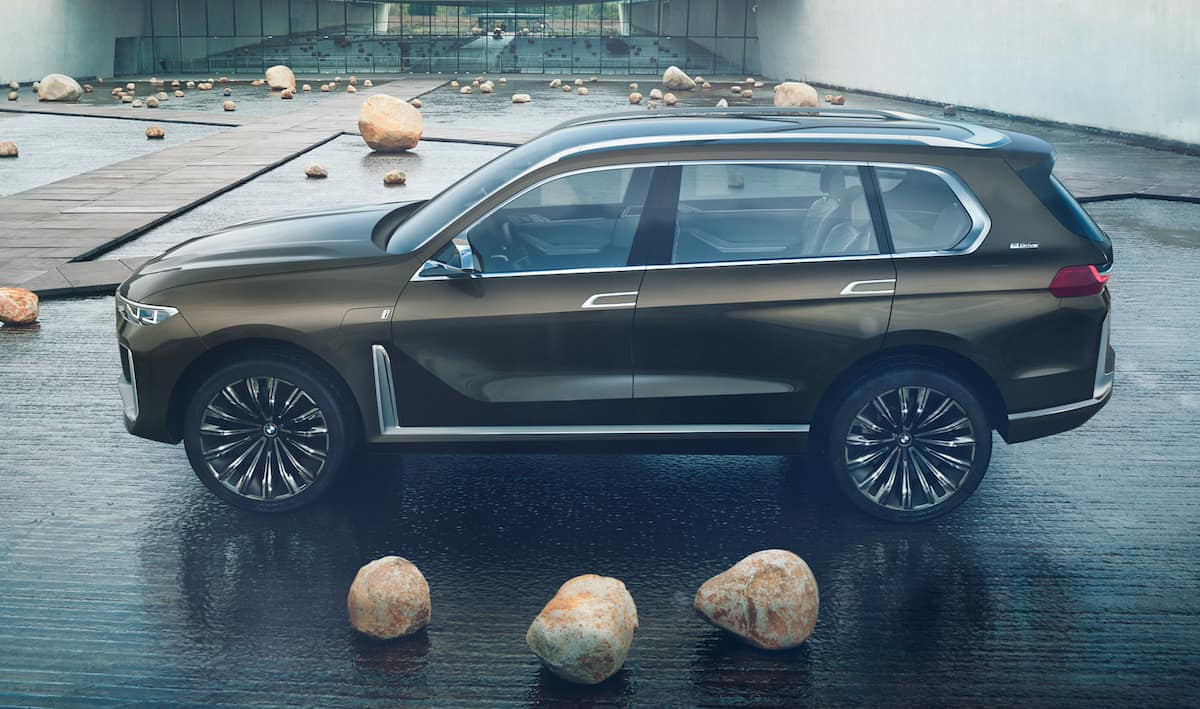 BMW X7 iPerformance concept sideview