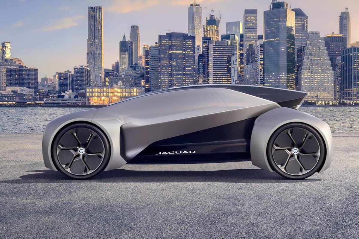 Jaguar Future-Type Concept side door closed