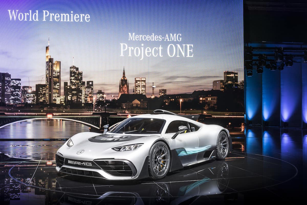 Mercedes-AMG Project ONE Hypercar Makes Frankfurt Debut