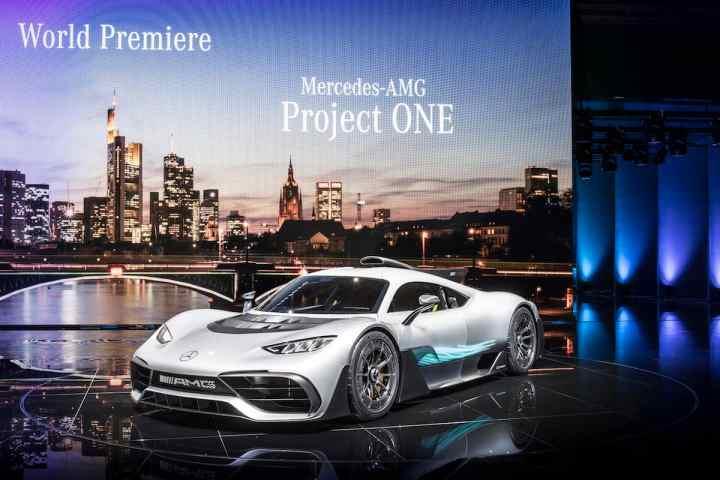 Mercedes-AMG Project ONE Hypercar Makes Frankfurt Debut