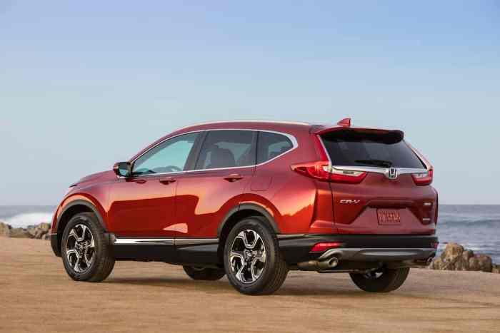 2017 Honda CR-V touring review