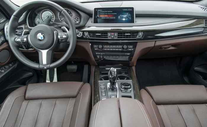 2017 BMW X5 xDrive40e iPerformance review cabin