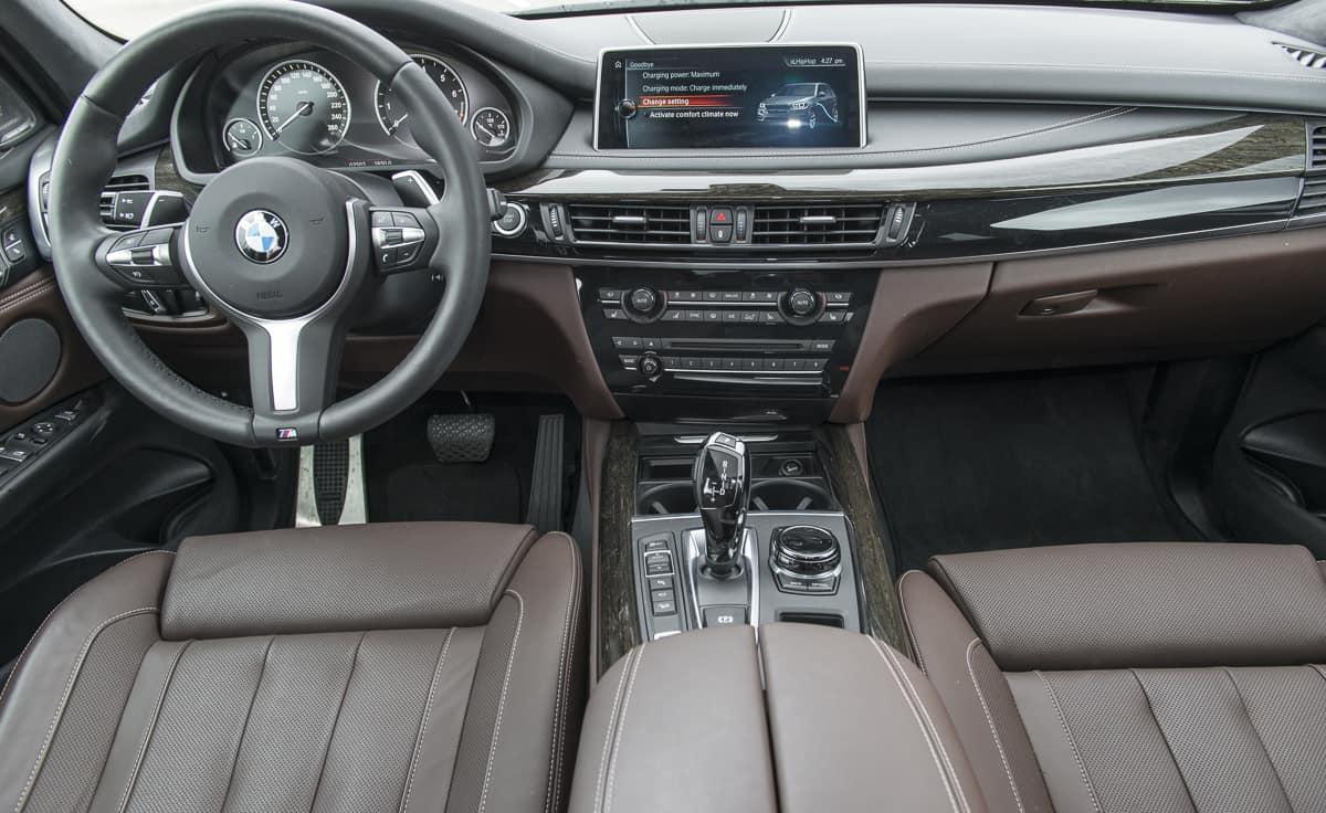 2017 bmw x5 xDrive40e plugin hybrid review interior