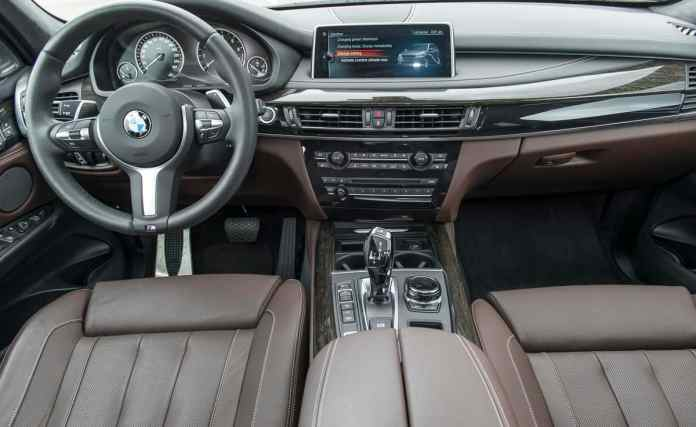 2017 bmw x5 xDrive40e plugin hybrid review interior