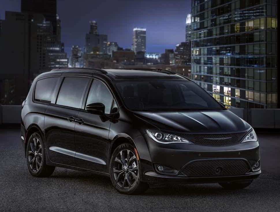 2018 Chrysler Pacifica Release Date With Sporty S