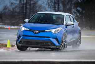 2018 Toyota C-HR Review front rolling