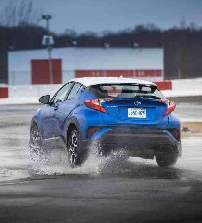 2018 Toyota C-HR Review rear rolling