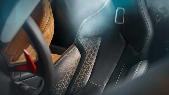 2019 BMW Z4 concept seat