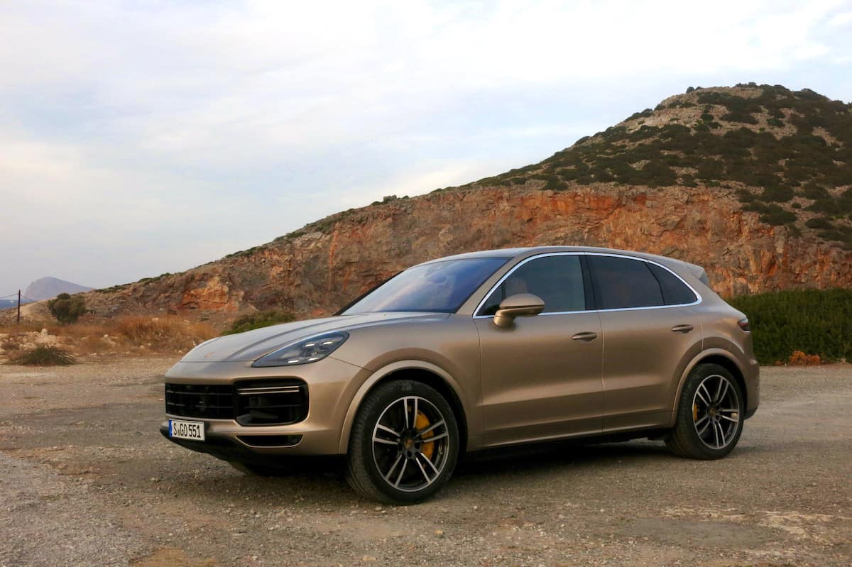 2019 porsche cayenne review first drive gold front