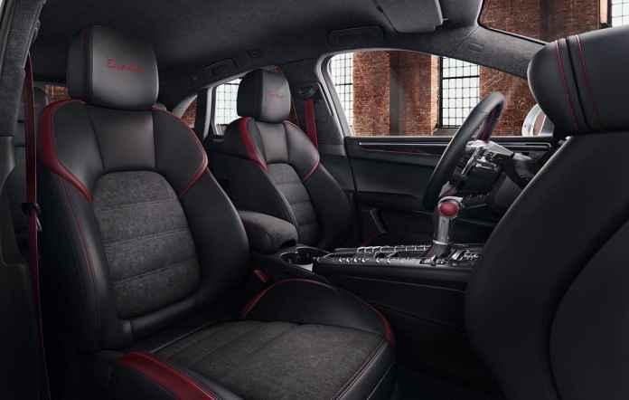 Porsche Macan Turbo Exclusive Performance Edition interior