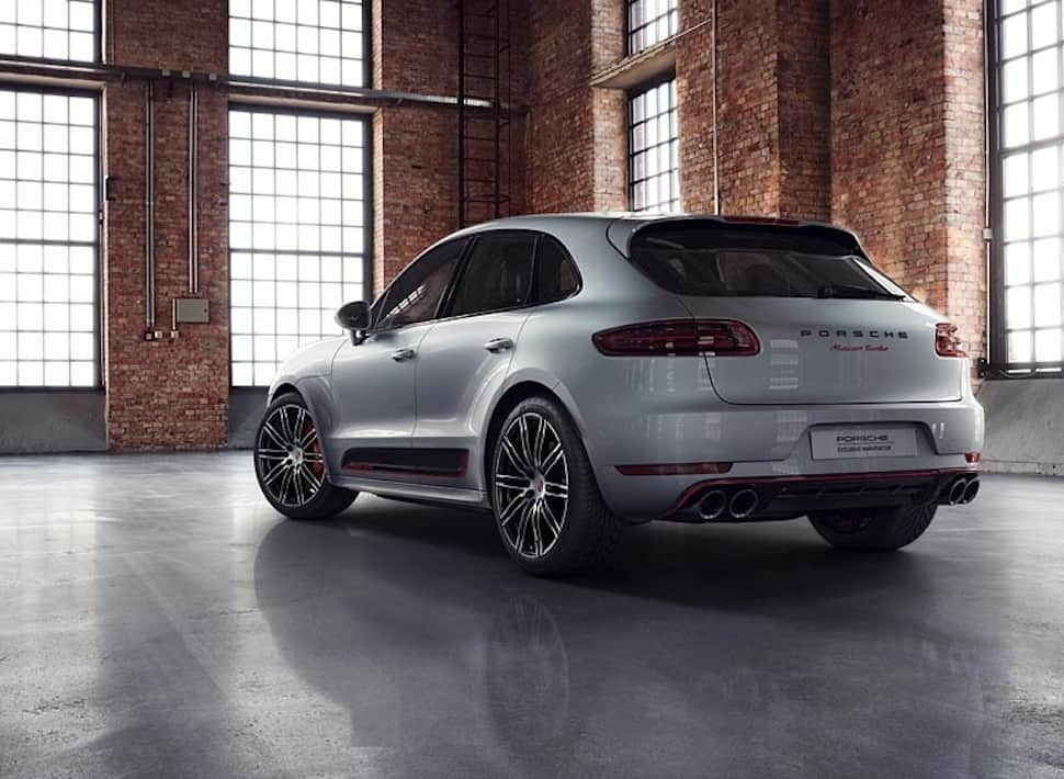 Porsche Macan Turbo Exclusive Performance Edition rear