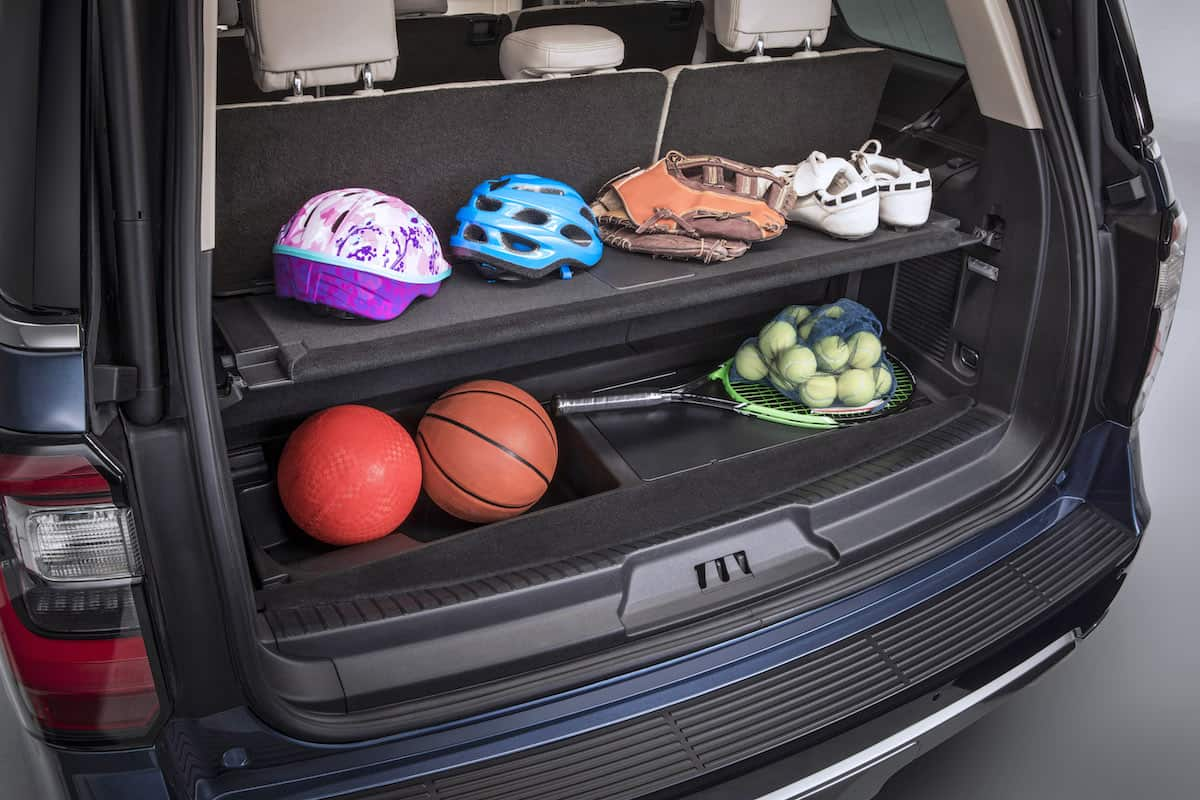 2018 Ford Expedition rear cargo