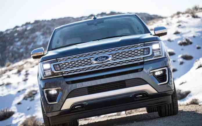 2018 Ford Expedition front grill