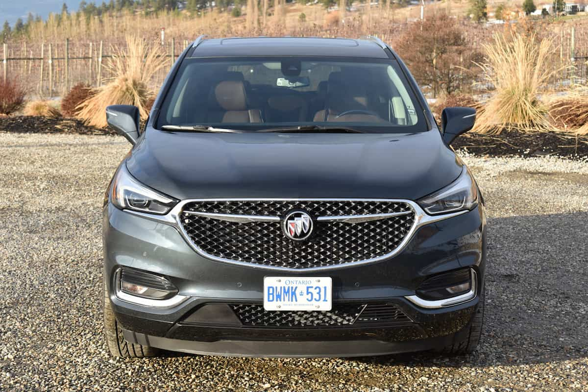 2018 Buick Enclave First Drive Review front grill