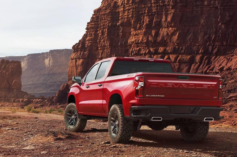 2019 chevy silverado 1500 rear red