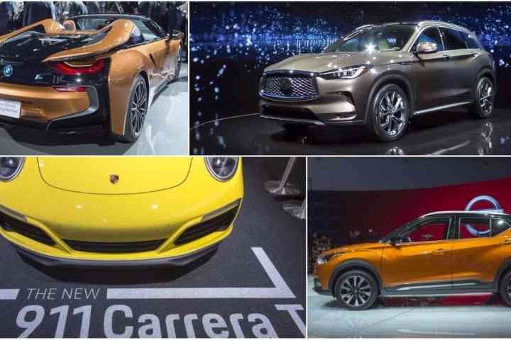 10 World Debuts from 2017 LA Auto Show All Available Next Year