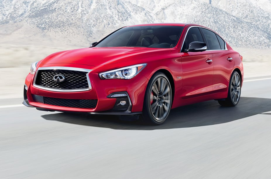 2018-infiniti-q50-red-front-driving