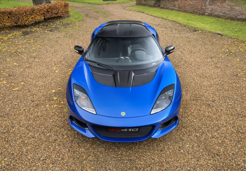 Lotus Evora GT410 Sport front top view