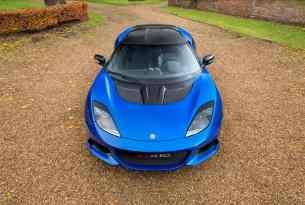 Lotus Evora GT410 Sport front top view