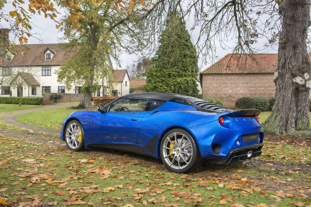 Lotus Evora GT410 Sport rear