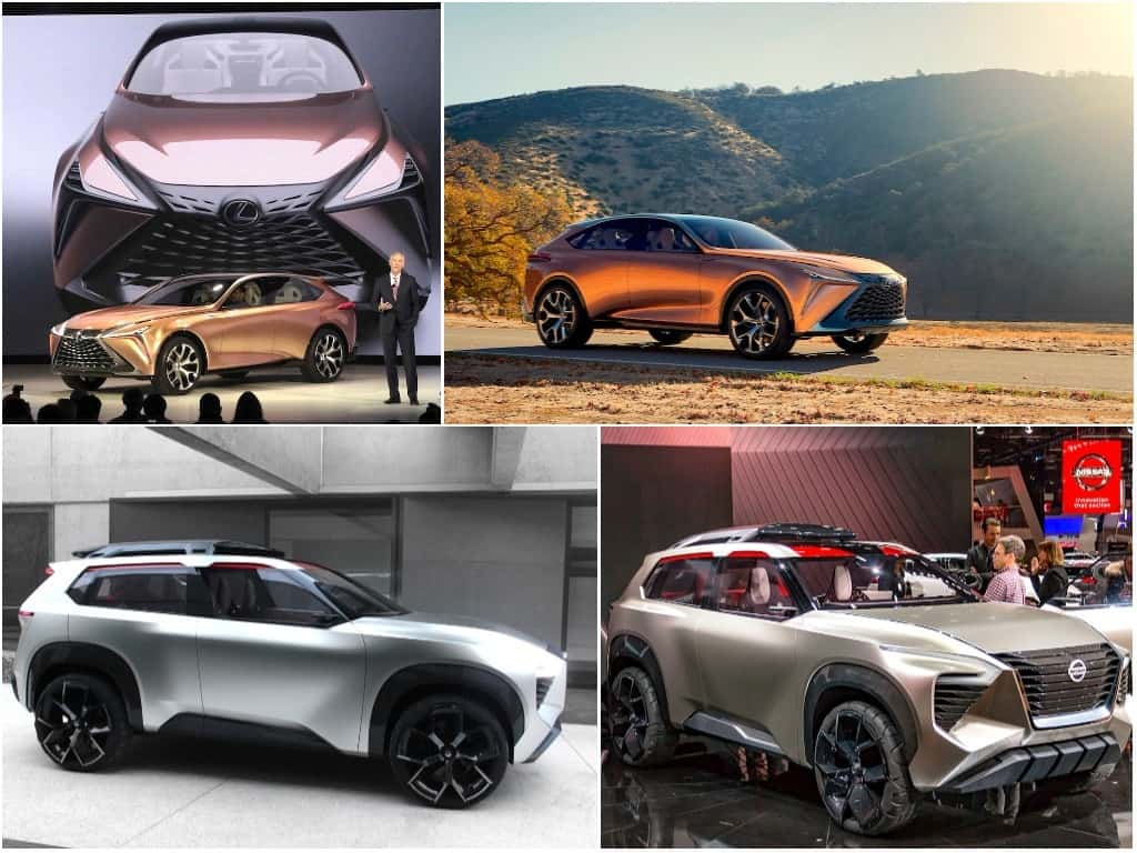 Detroit's Crossover Concepts: Lexus LF-1 Limitless & Nissan XMotion