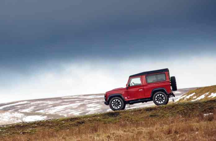 new defender 2018 land rover 70th anniversary edition
