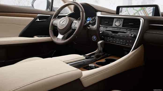 2018 Lexus-RX-450hl-hybrid interior