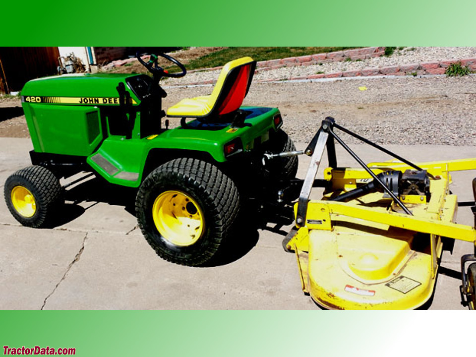 John Deere 420 Tractor Photos Information
