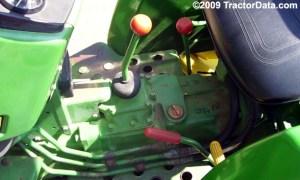 TractorData John Deere 750 tractor transmission information