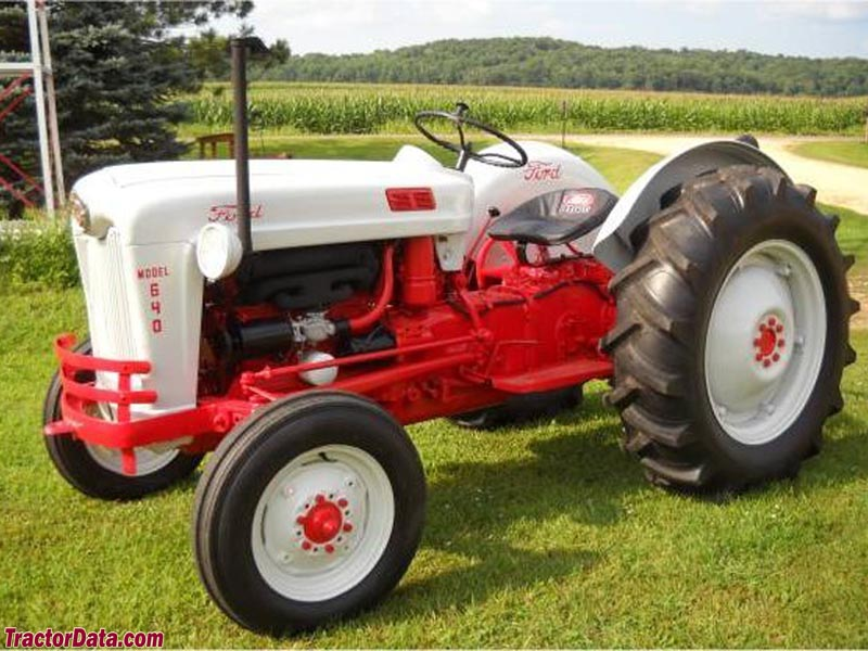 Ford 600 Tractor Serial Number : Ford tractor serial numbers