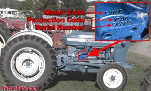 TractorData Ford 3000 tractor photos information