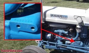 TractorData Ford 4000 tractor photos information