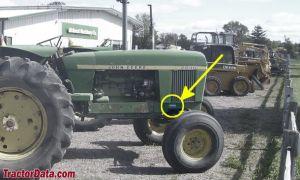 TractorData John Deere 2840 tractor information
