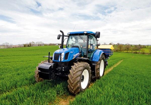 Lastrado de Tractores. Fuente: NewHolland