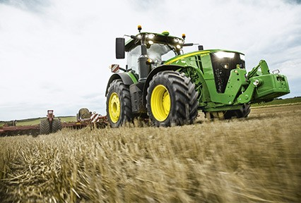 Lastrado de Tractores. Fuente: John Deere
