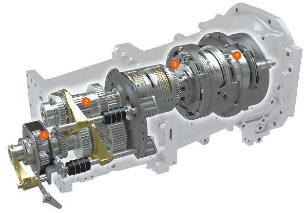 Transmisión Semipowershift Claas Arion