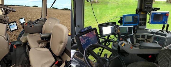 Tractor John Deere con pantalla GreenStar 2630