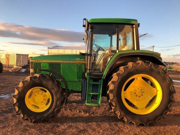 Tractor de segunda mano John Deere