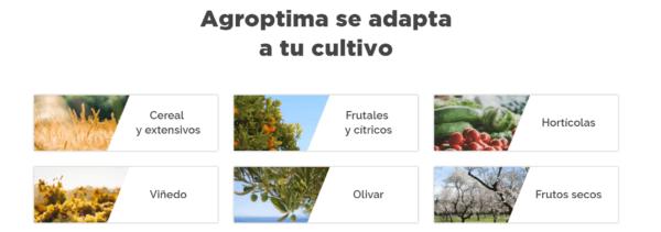Cuaderno de Campo Agroptima según tu cultivo.