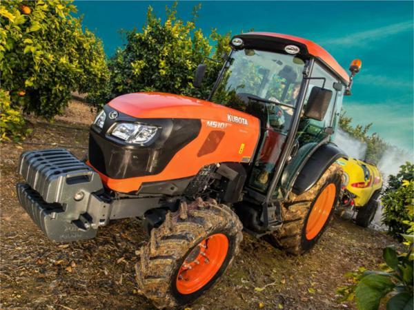Tractor frutero Kubota